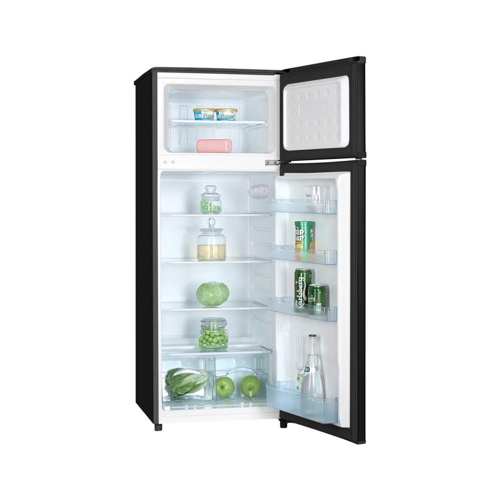 Heller 206L 2-Door Direct Cooling Refrigerator (Black)