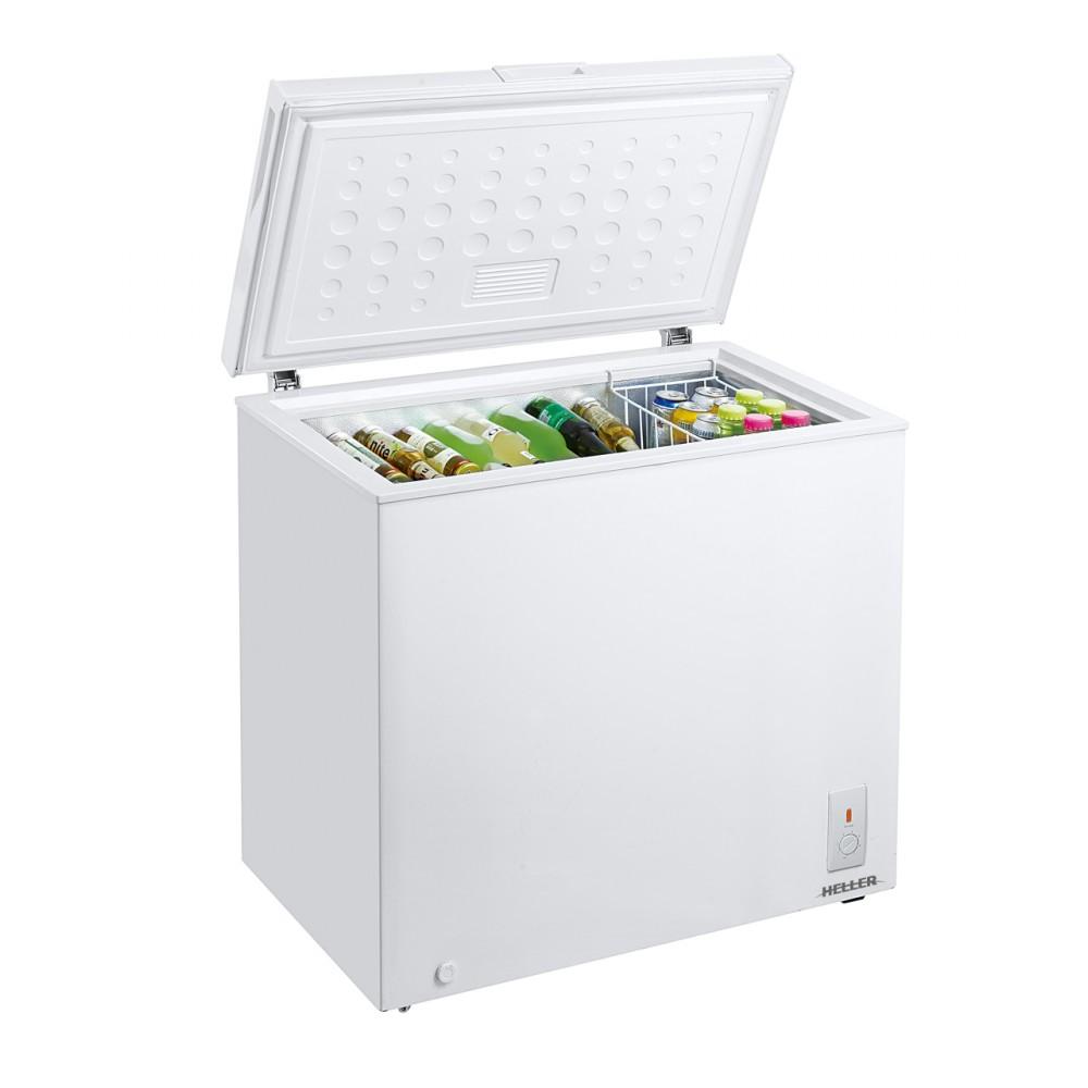 Heller 200L Chest Freezer – Silver Liner