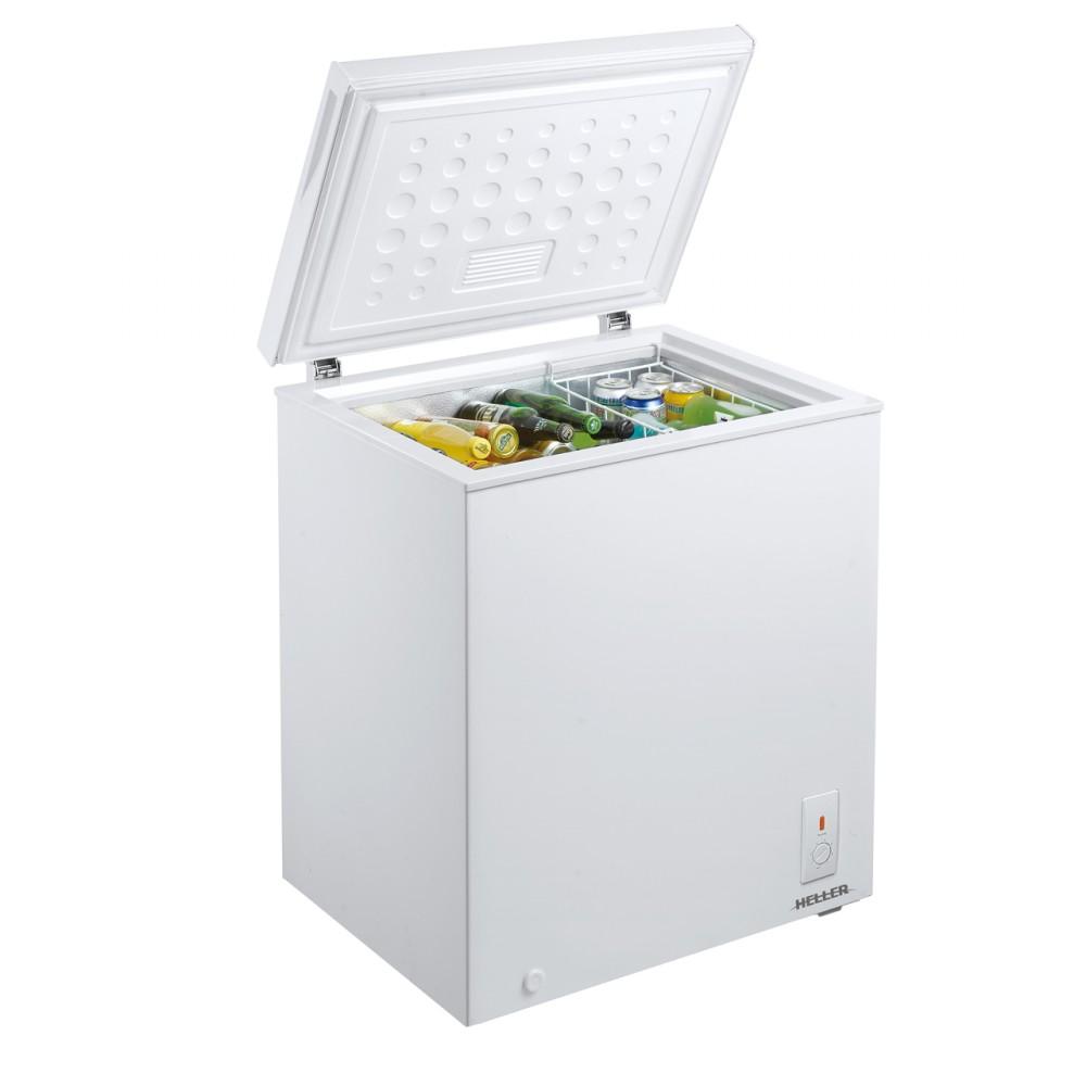 Heller 145L Chest Freezer – Silver Liner