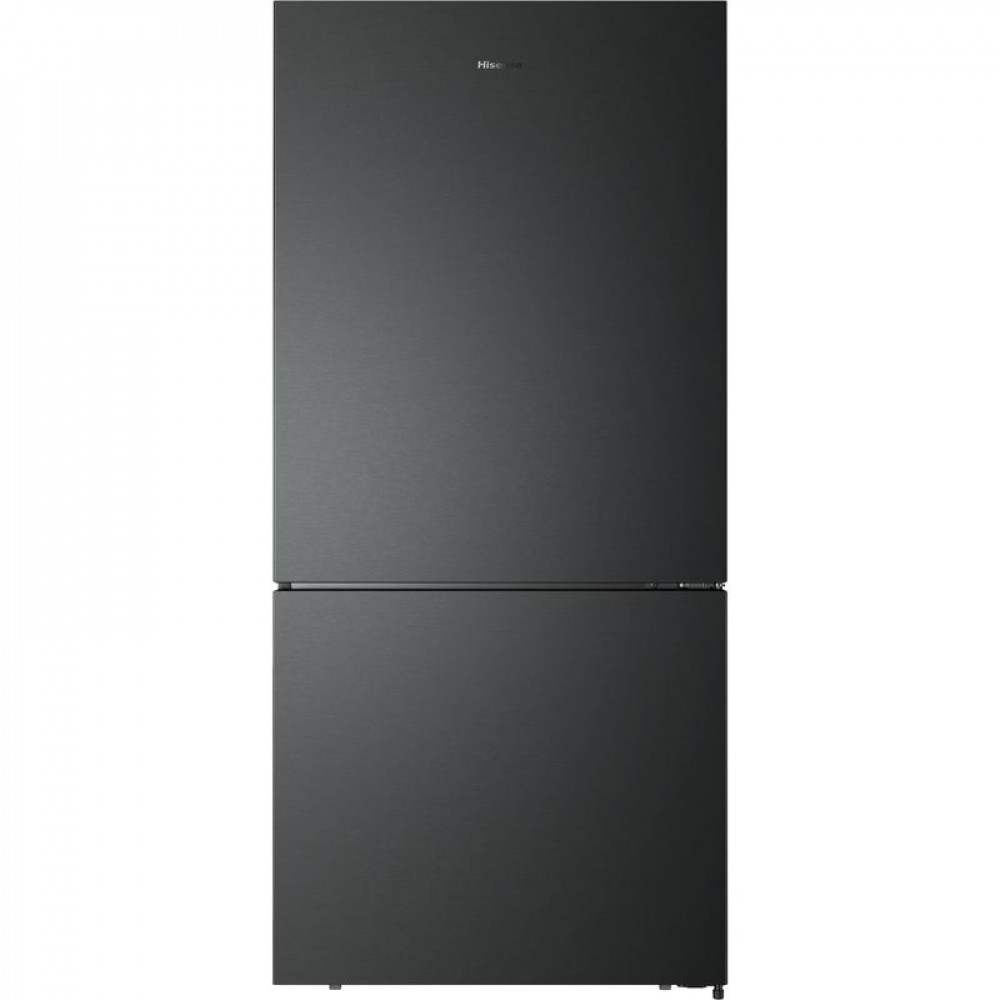 Hisense HR6BMFF519B 519L Bottom Mount Fridge (Black Steel)