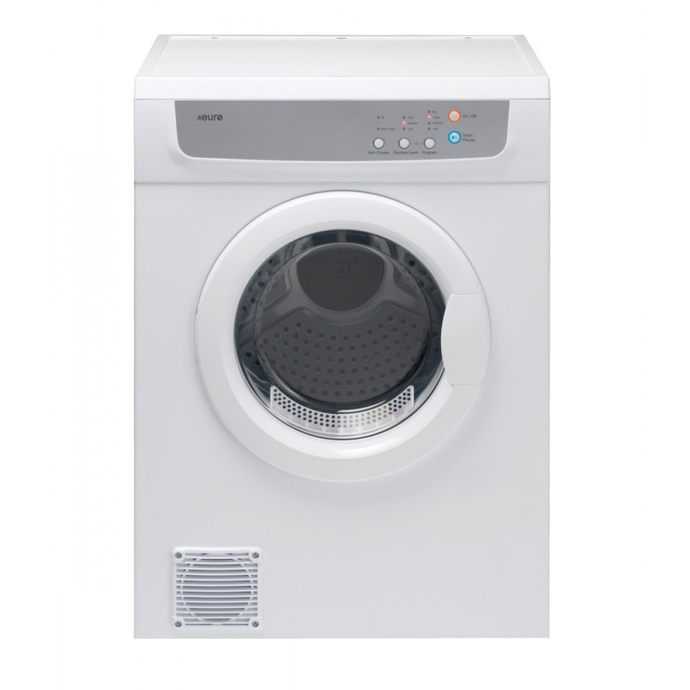 EURO 7KG Wall Mountable Sensor Clothes Dryer