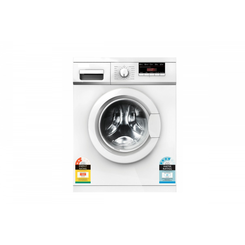 HEQS 7.5KG front loader washing machine