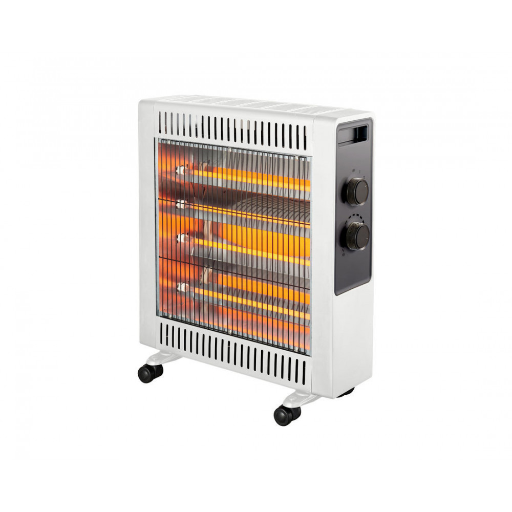 Heller 2200W White Quartz Radiant Heater