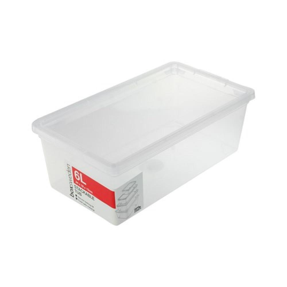 ESSENTIALS STACKABLE BOX 6L