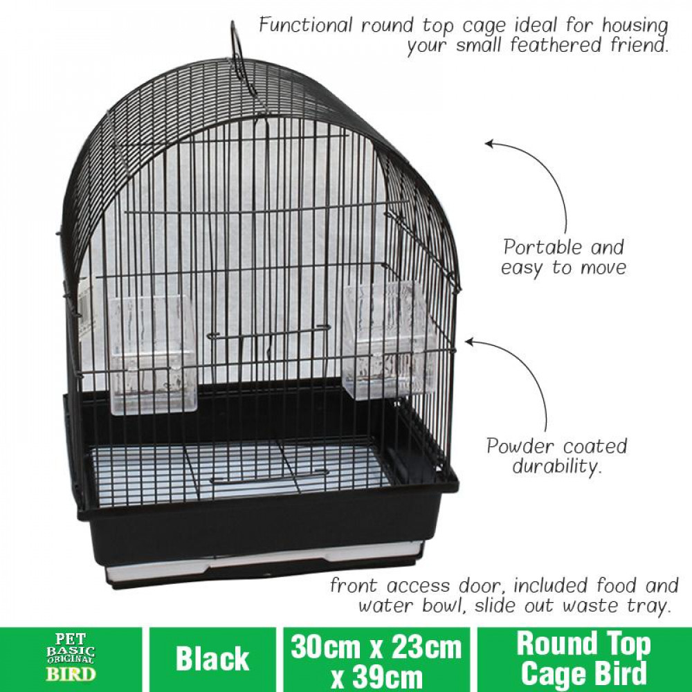 BIRD CAGE ROUND TOP