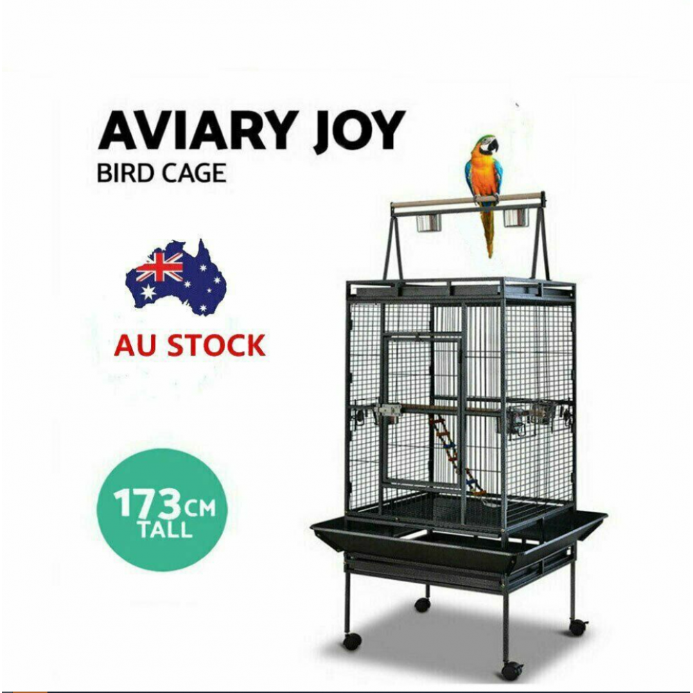 BIRD CAGE WITH CASTOR WHEELS 173CM