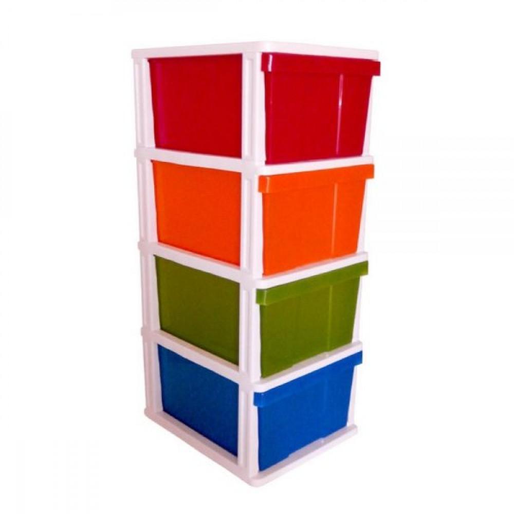 Mega 4 Drawer Multicolour