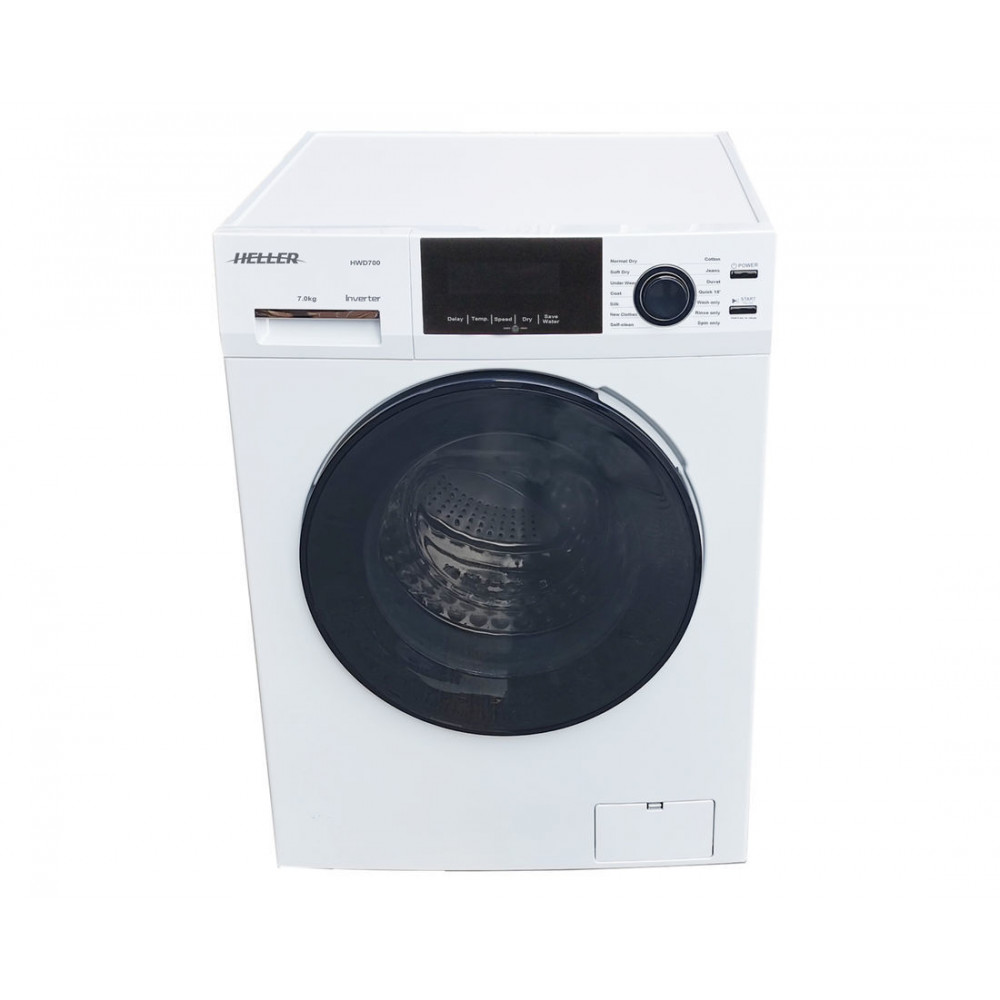 Heller 7kg Front Load Washer & Dryer Combo