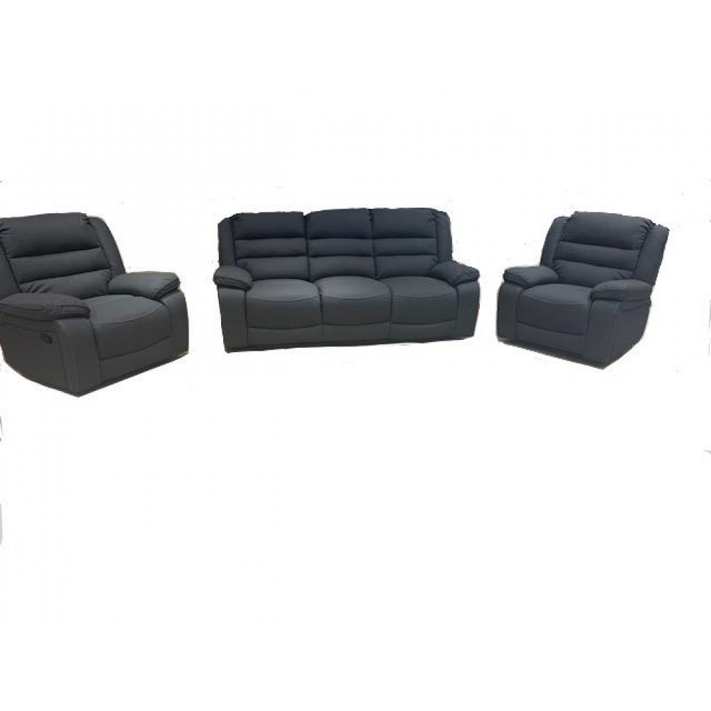 ASHLEIGH 3RR+R+R  WITH 4 RECLINERS