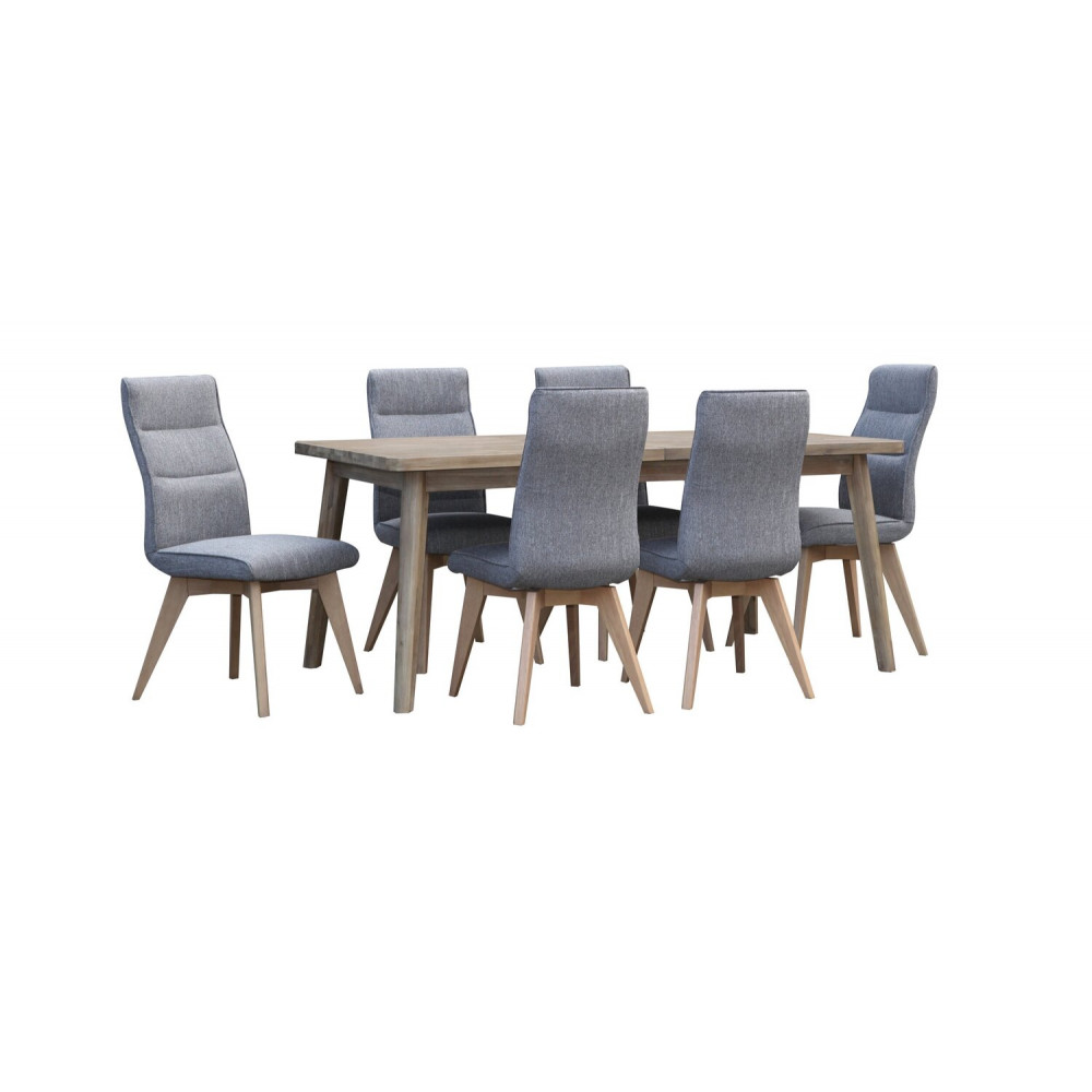 MOROCCO 7PC EXTENSION DINING SET