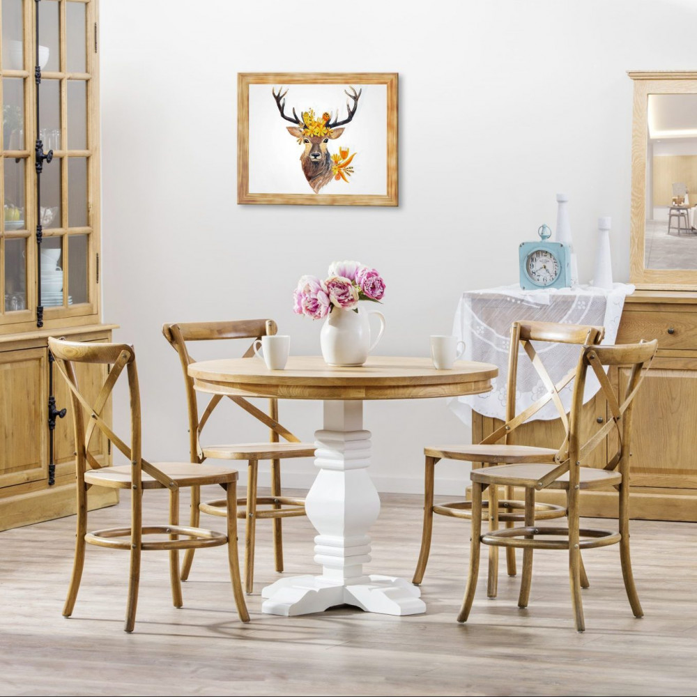 5 Piece Tayelor Oak Dining Setting