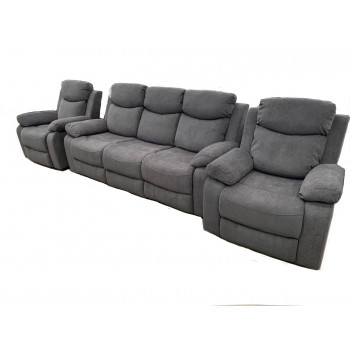 NIKSON 3+1+1 WITH 4 RECLINERS