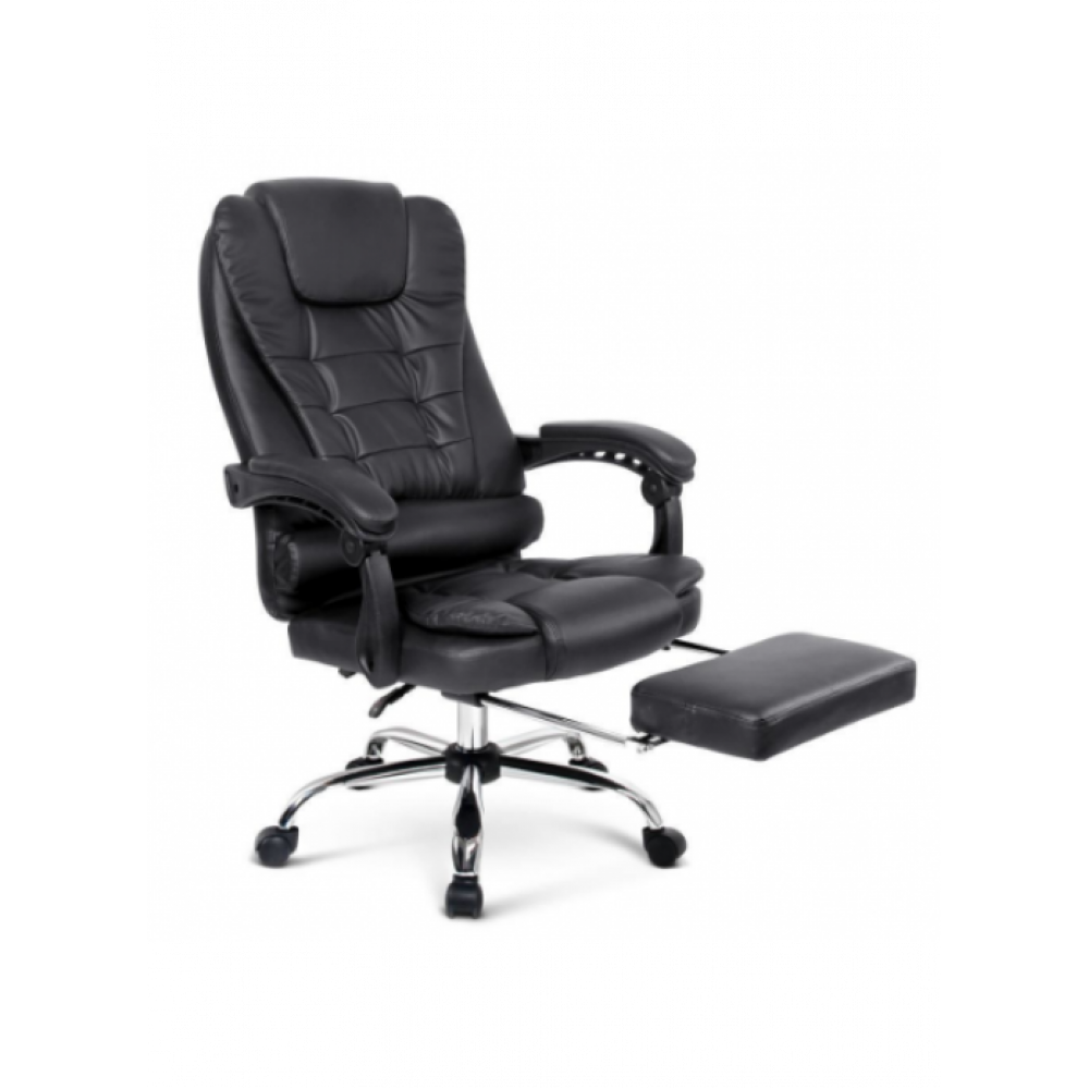 Office Chair With Foot Rest PU Leather massage heat SPC1009MJ