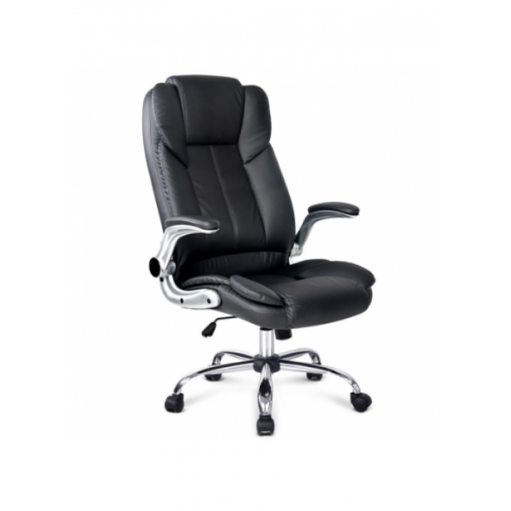 Office Chair With Foot Rest PU Leather massage heat SPC1223M