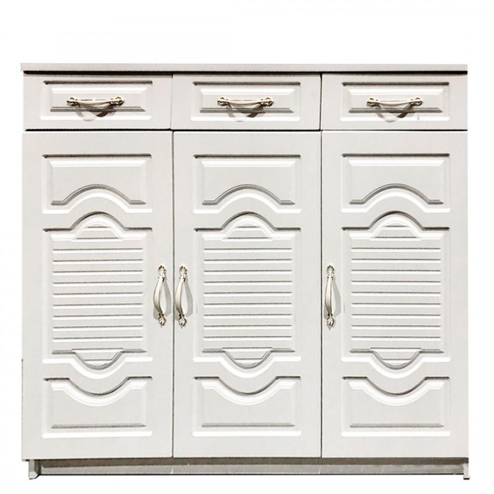 3 DOOR SHOE CABINET 603