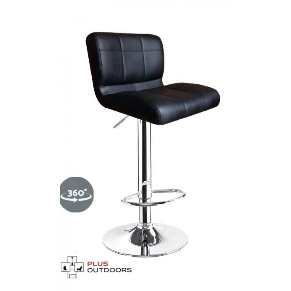 LEATHER BAR STOOLS KITCHEN CHAIR