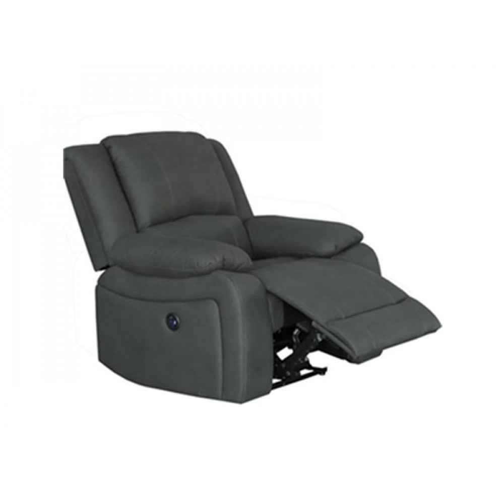 Captain Single Electric Recliner With USB charger