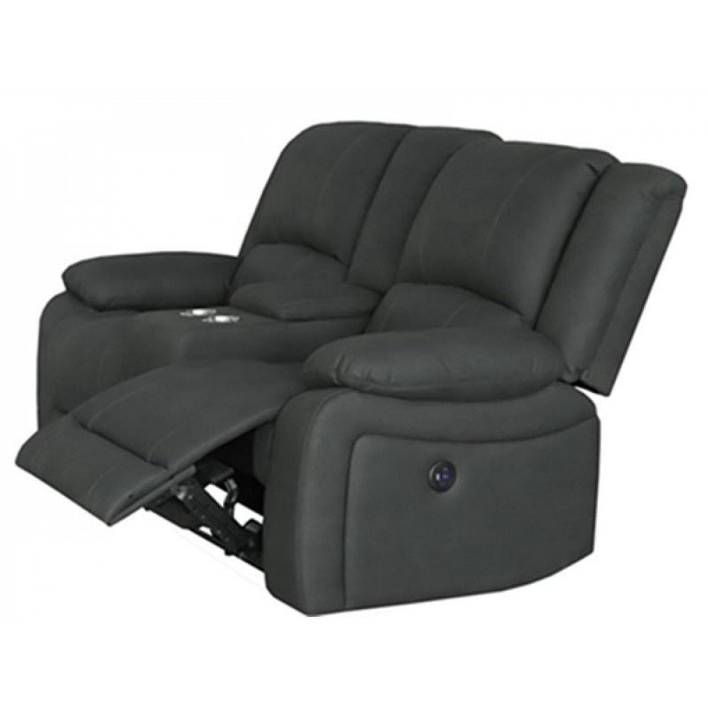 CAPTAIN 2 SEAT ELECTRICAL RECLINER WITH CONSOLE