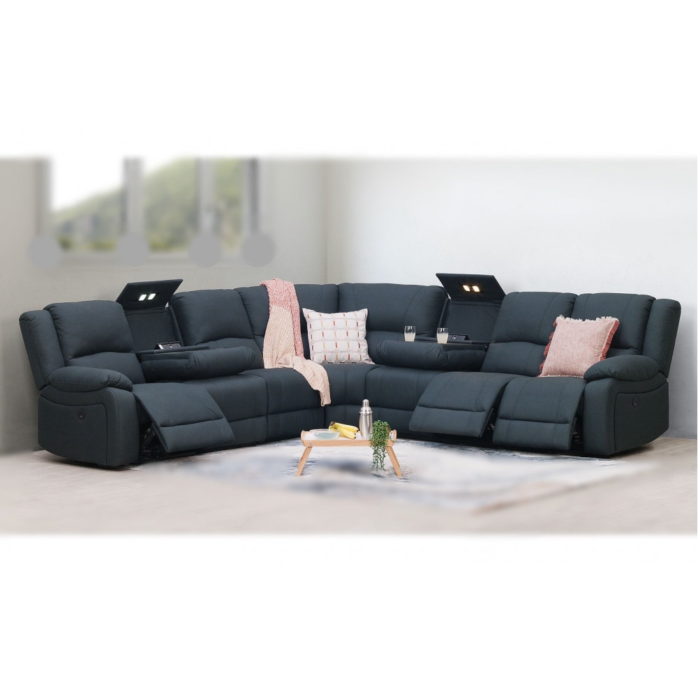 CAPTAIN 7 SEATER MULTI-FUNCTION ELECTRICAL RECLINERS