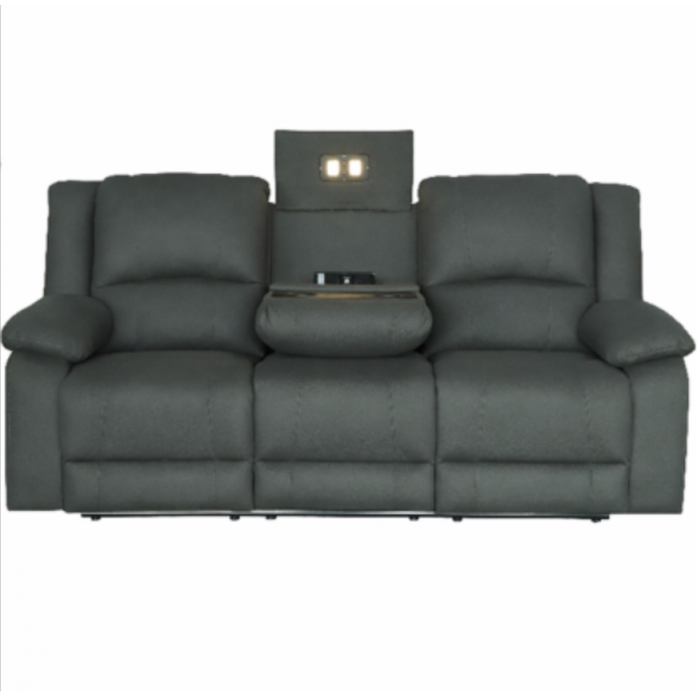 CAPTAIN 3 SEATER ELECTRICAL RECLINERS WITH CONSOLE BUILT IN