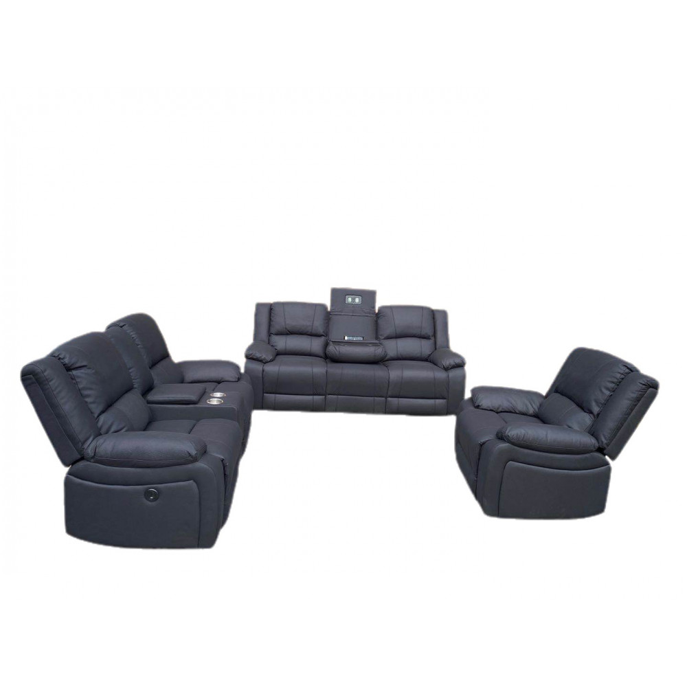 CAPTAIN 3+2+1 ELECTRICAL RECLINERS